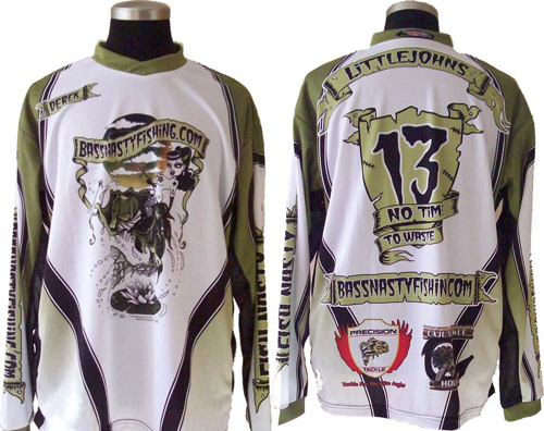 BNF jersey made by  Reservoir Dawgs Customs