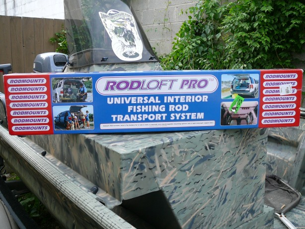 The Rod Loft Pro, sitting pretty in it's fresh, unopened box
